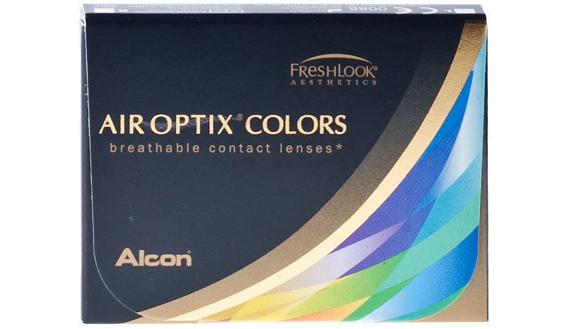 Air Optix® Colors 2 ks - dioptrické