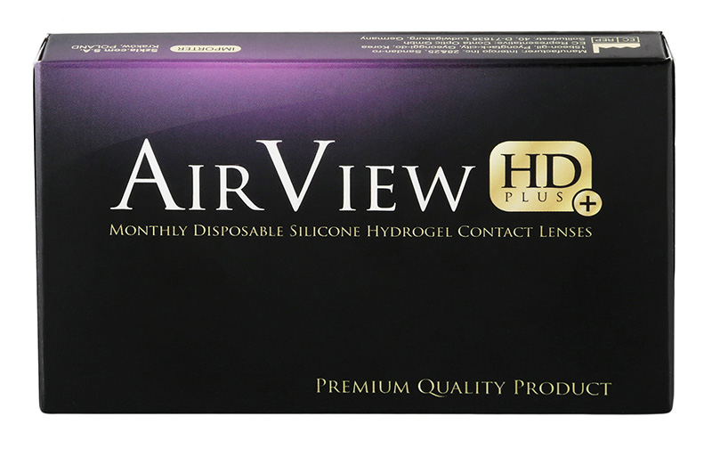 AirView HD Plus 3 čočky