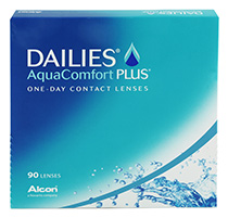 DAILIES® AquaComfort Plus® 90 ks