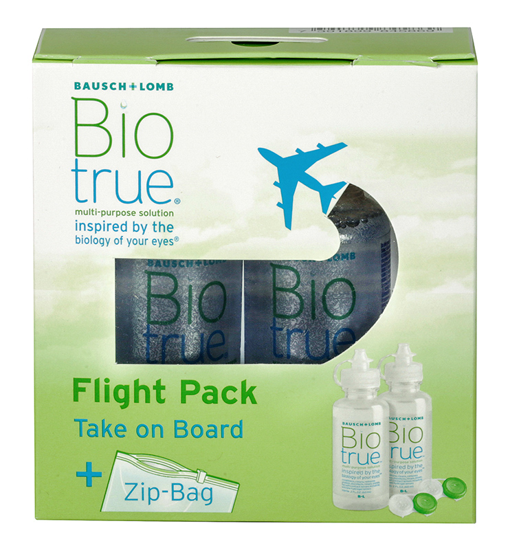 BAUSCH & LOMB Biotrue Flight Pack 2 x 60 ml