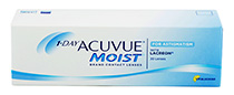 Acuvue 1-DAY Moist™ for Astigmatism 30 ks