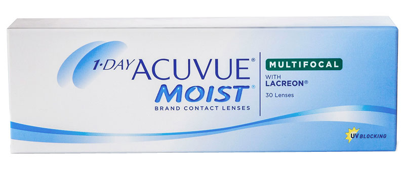 1-DAY ACUVUE® MOIST MULTIFOCAL 30 ks