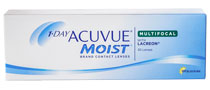 Acuvue 1-Day Moist Multifocal 30 ks