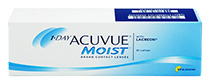 VÝPRODEJ - Acuvue 1-DAY Moist™ 30 ks