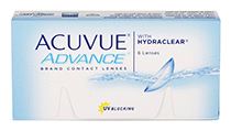 VÝPRODEJ - Acuvue Advance 6 ks