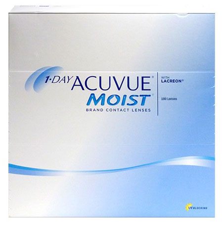 1-DAY ACUVUE® MOIST 180 ks