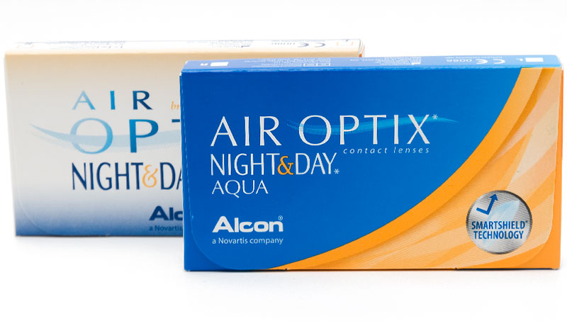 Air Optix® Night & Day® Aqua 3 ks