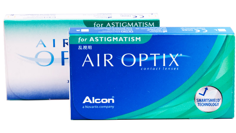 Air Optix® for Astigmatism 6 ks + CashBack 100,-Kč ZDARMA (ke 2 bal.)