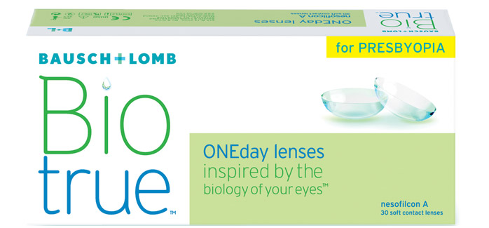 Biotrue ONEday for Presbyopia 30 ks