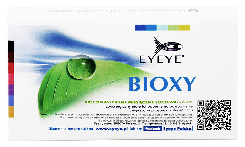 Eyeye Bioxy™ 6 ks