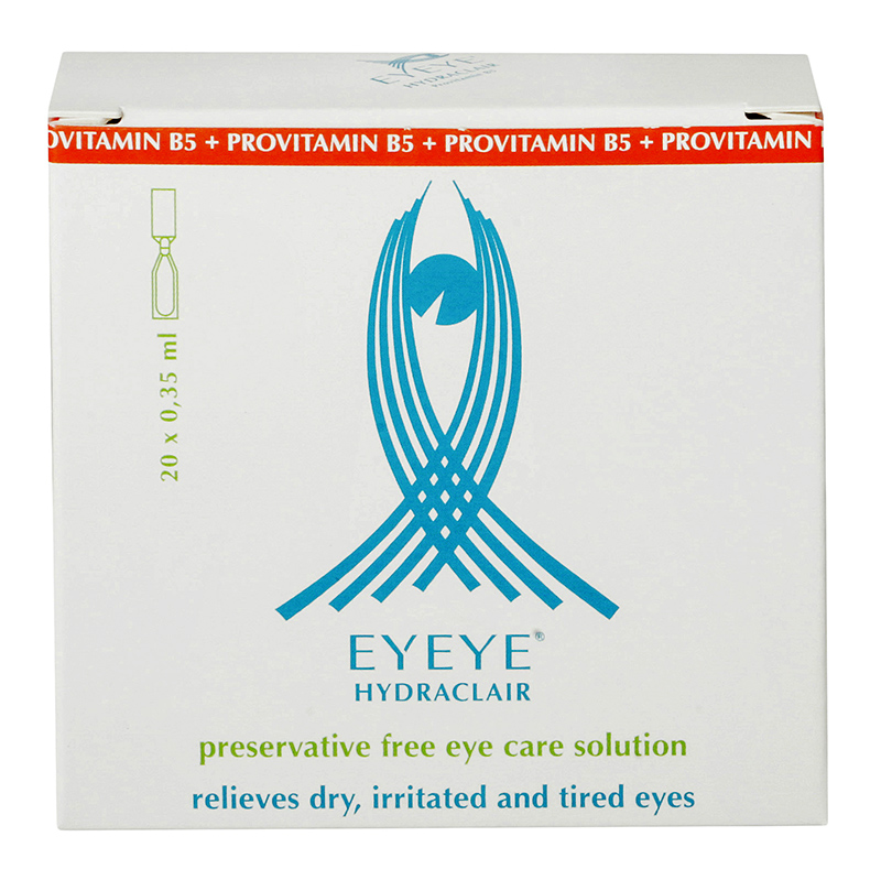 Eyeye Hydraclair™ s provitamínem B5 20 x 0.35 ml