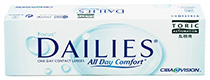 Focus® Dailies® Toric All Day Comfort 30 čoček