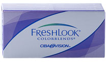 VÝPRODEJ - FreshLook ColorBlends® 2 ks