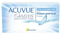 ACUVUE® OASYS for ASTIGMATISM 6 ks