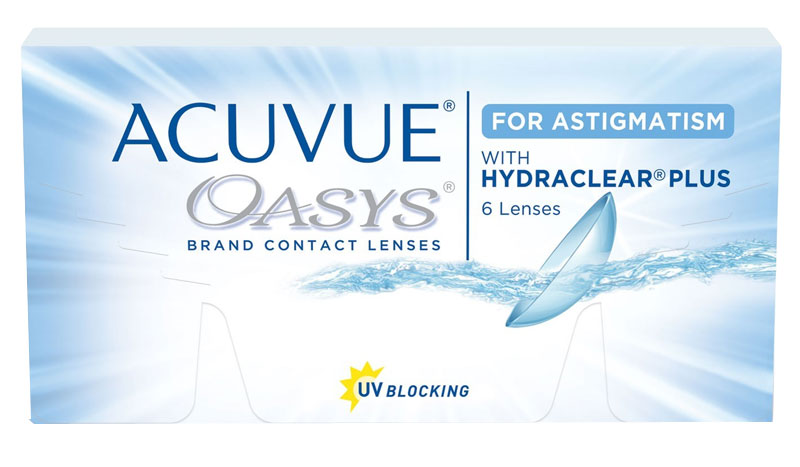 Acuvue Oasys for Astigmatism™ 6 ks