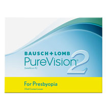 PureVision 2 for Presbyopia 3 ks