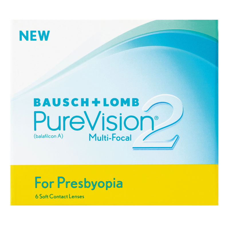 PureVision® 2 for Presbyopia 6 ks