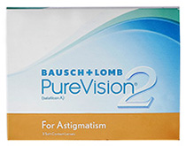 PureVision® 2 HD for Astigmatism 6 ks