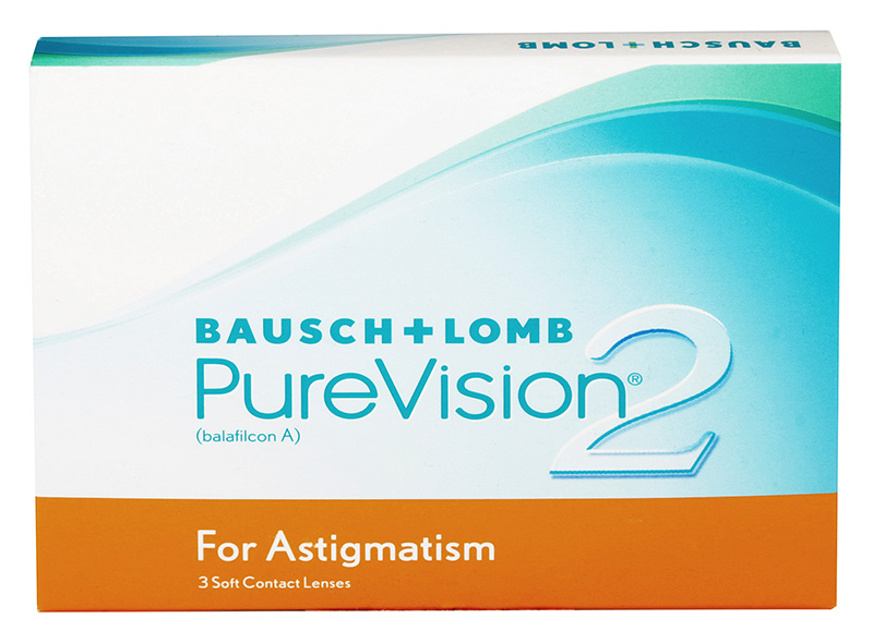 PureVision® 2 HD for Astigmatism 3 ks