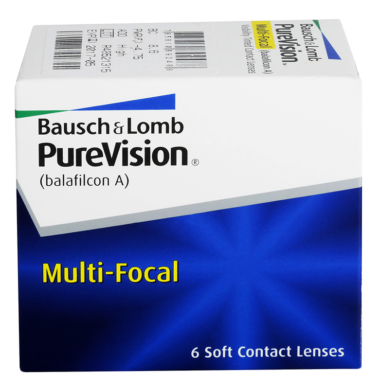 PureVision® Multifocal 6 ks