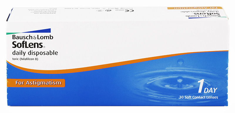 Soflens Daily Disposable Toric for Astigmatism 30 čoček